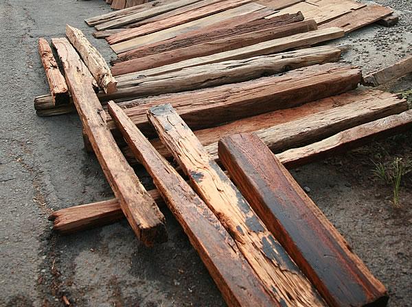 極致工藝:回收老木料