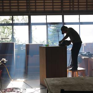 工房二三事:工作室環境與工作照